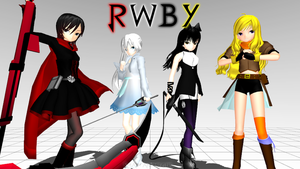Team RWBY - MMD Version by Smartanimegirl