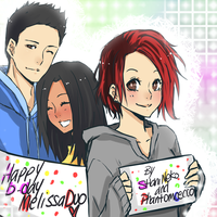 Happy Birthday MelissaDuo by ShaniNeko