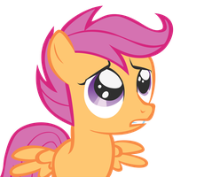 Scootaloo, Sad Edition by koboldthief