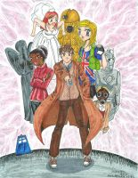 Doctor Who by MewKaylathevampire