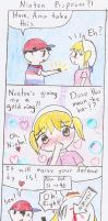 Mother 1 Comic-Ninten Proposes by bellberrystar
