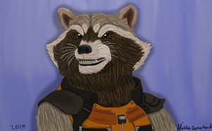 Rocket_Gift for a Friend by SolitaryGrayWolf