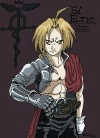 Ed Elric by Iziume89