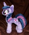 mini Twilight Sparkle plush by CatyCrippledCat