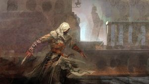 speedpaingting-Ezio by jamlee1020