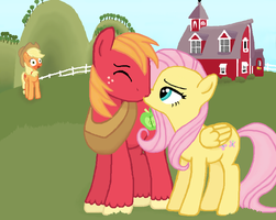 Applejack Doesn't Approve by TheCat101