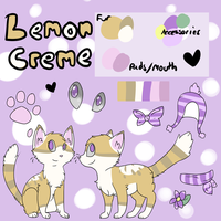 Lemon Creme Reference Sheet Commission! by Smopi