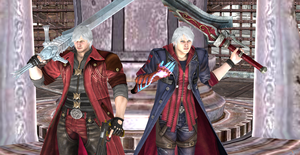 Dante and Nero Devil May Cry 4 by Hatredboy