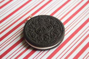 polymer clay oreo by l337Jacqui