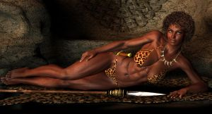 Nubia Queen by vesubio79dc