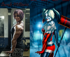Sarah Williams IS Harley Quinn By Ulics by zenx007