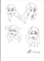 face expression 2 by Bella-Who-1