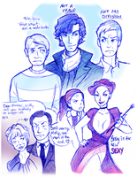 Sherlock Sketch Dump II by fluffy-fuzzy-ears