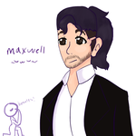 Maxwell~ Updated Drawing! by galixypuppy