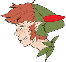 Here, have some Peter Pan by NELIP0T