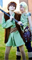 Hiccup and Astrid by musableCOSPLAY