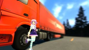 [Garry's Mod] Neptune and her truck. by chazza115