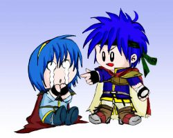 Chibi Ike And Marth by NH by IkeFanatics