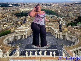 BBW at the Vatican by X-Large