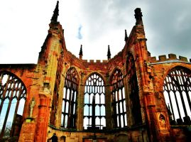 Coventry Cathedral ruins by PhilsPictures