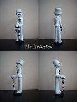 Sculpture - Mr.Inverted by Fluna