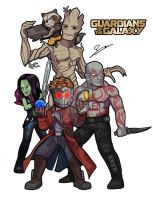 Guardians of The Galaxy by SandikaRakhim