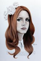 Lana Del Rey by Warnstrom