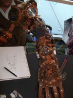 Steampunk Arm by Ls-Successor