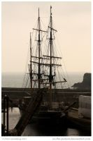 Cornish Tall Ship by In-the-picture