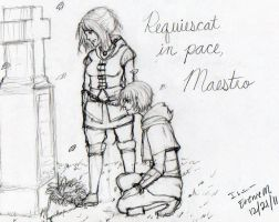 Requiescat in pace, Maestro by darkanimegirl11