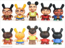 The Big Bang Gang dunnys by artmik