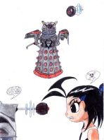 Dalek of the Cluster by Griddles