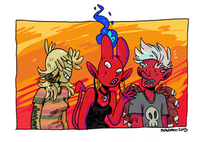 Demon Dweebs by MyHatsEatPeople