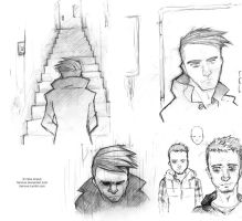Sketches December 2013 by Famove