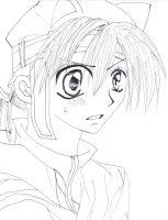 :hard decision lineart: by AngelStreetNo23Lover