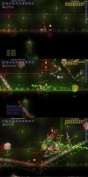 Terraria 1.2 - Deaths of the Deadly Six by RazorVolare