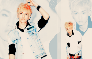 SHINee - Key (wallpaper) by LittleGlamKitty