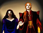 Ar-Zimraphel and the King's Advisor by janique-marie