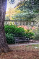 Park Bench by teslaextreme