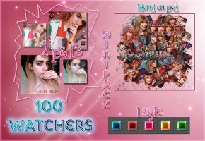 +Minipack 100 watchers by ourlittleinfinity