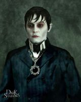 Dark Shadows Barnabas Portrait by Plan-Barracuda
