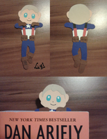 Captain America Bookmark by lialilie
