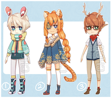 Adoptables 10 [CLOSED] by Chows-adopts