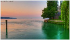 Sunrise Lake Constance I by acoresjo88