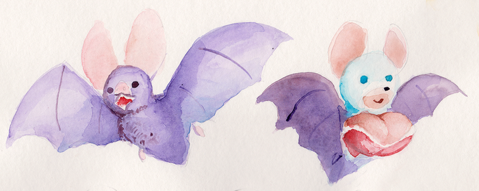 Painty bats by TheDJTC
