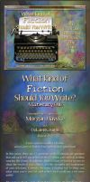 What kind of Fiction should You Write? Quiz Game by OokamiKasumi