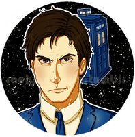 Doctor Who: Tenth Doctor by RaelynnMarie