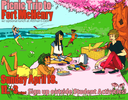 Picnic Poster by alphabet-takeout
