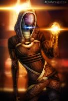 Mass Effect 2 - Tali by Mecha-Potato-Alex
