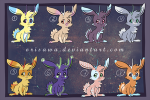 Jackalope Adopts by LisaOrise